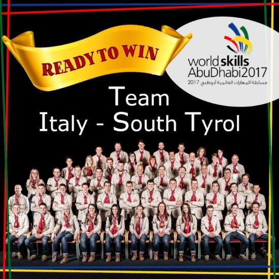 WorldSkills Team Italy 2017